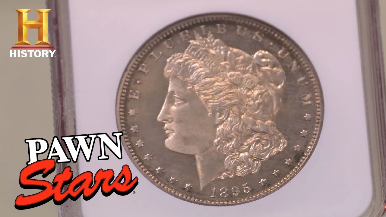Download Pawn Stars: Extremely Rare 1895 Morgan Dollar | History