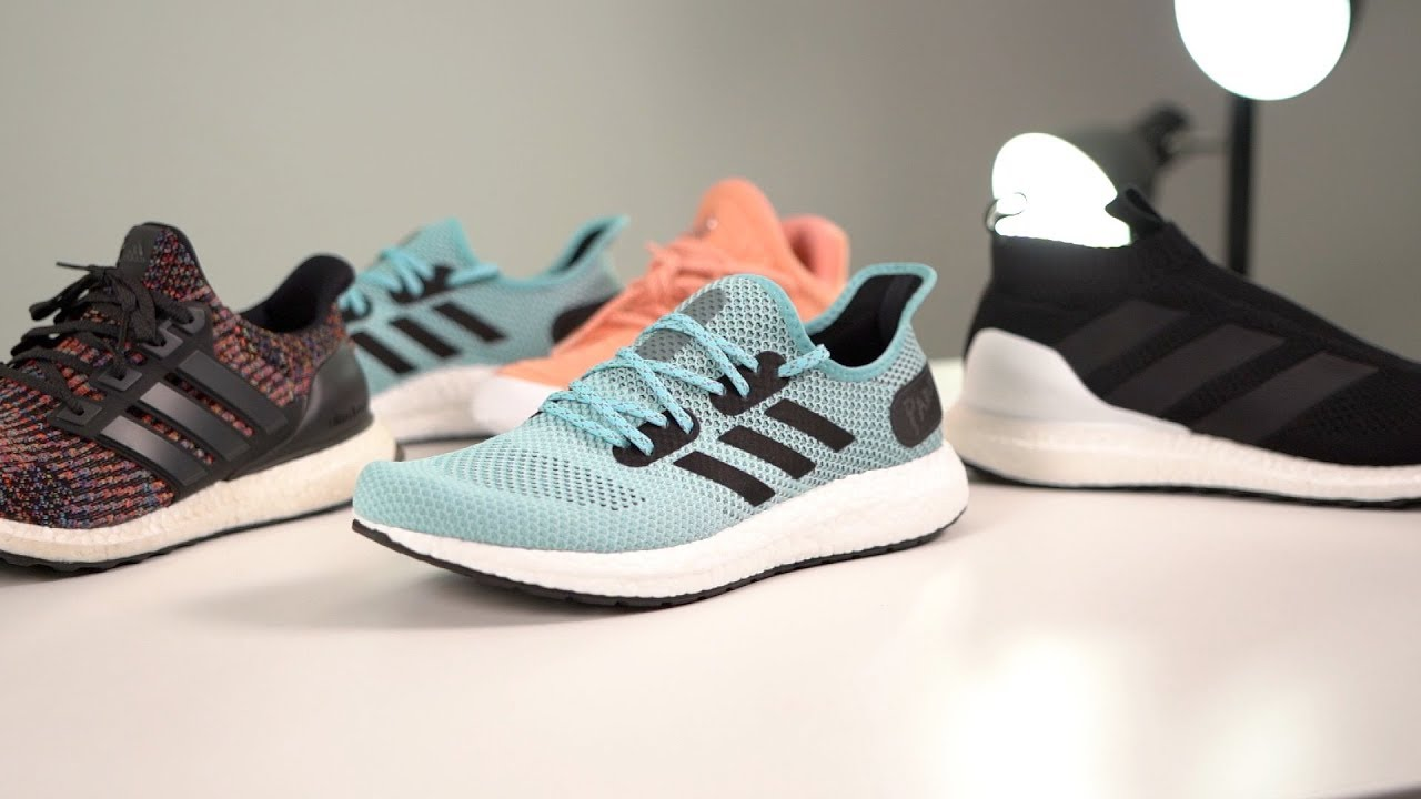 7fe24fe6 LIMITED Edition ADIDAS x Parley AM4LA SNEAKER Review - YouTube