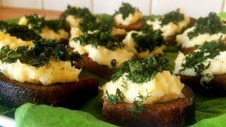 Сухарики с Сыром и Чесноком Быстро Просто Дешево и очень Вкусно Гости в восторге