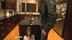 Triple H invades Randy Orton's home Raw 03 09 2009