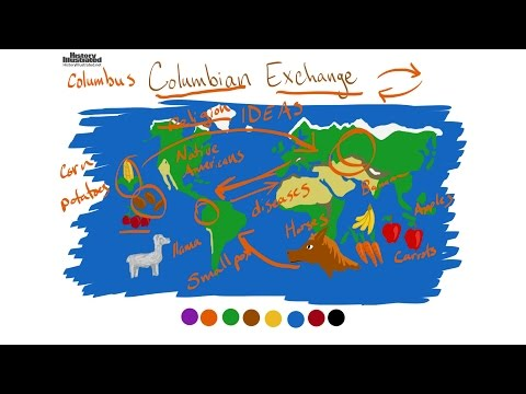 The Columbian Exchange - description for kids