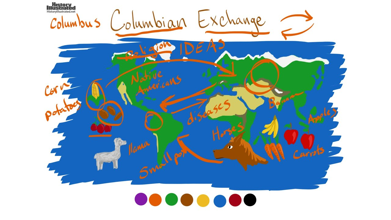 tobacco in the columbian exchange The lands from the caribbean north offered products such as squash, beans, maize, tobacco, potatoes, chocolate, corn, and tomatoes, all of which were quickly taken up by europeans other livestock also were part of the columbian exchange, including cows and pigs.