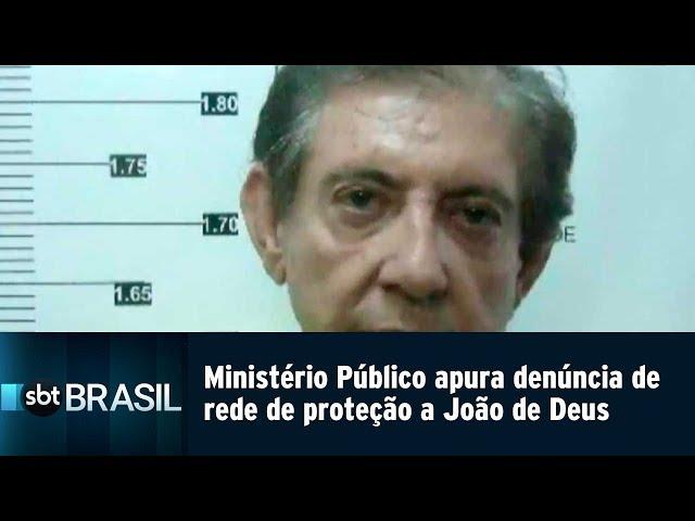 Ministério Público apura denúncia de rede de proteção a João de Deus   SBT Brasil (22/02/19)