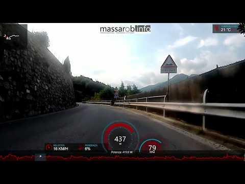 [Video+telemetria] palestra Bienno-bivio Astrio 15'55'' @ 353W/64Kg