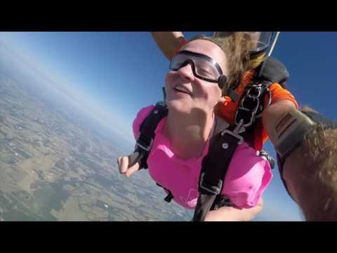 Tandem Skydive | Kayley from Kemp, TX