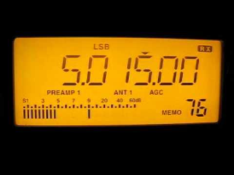 Turkmen Radio 5015 kHz. 6.5.2012.