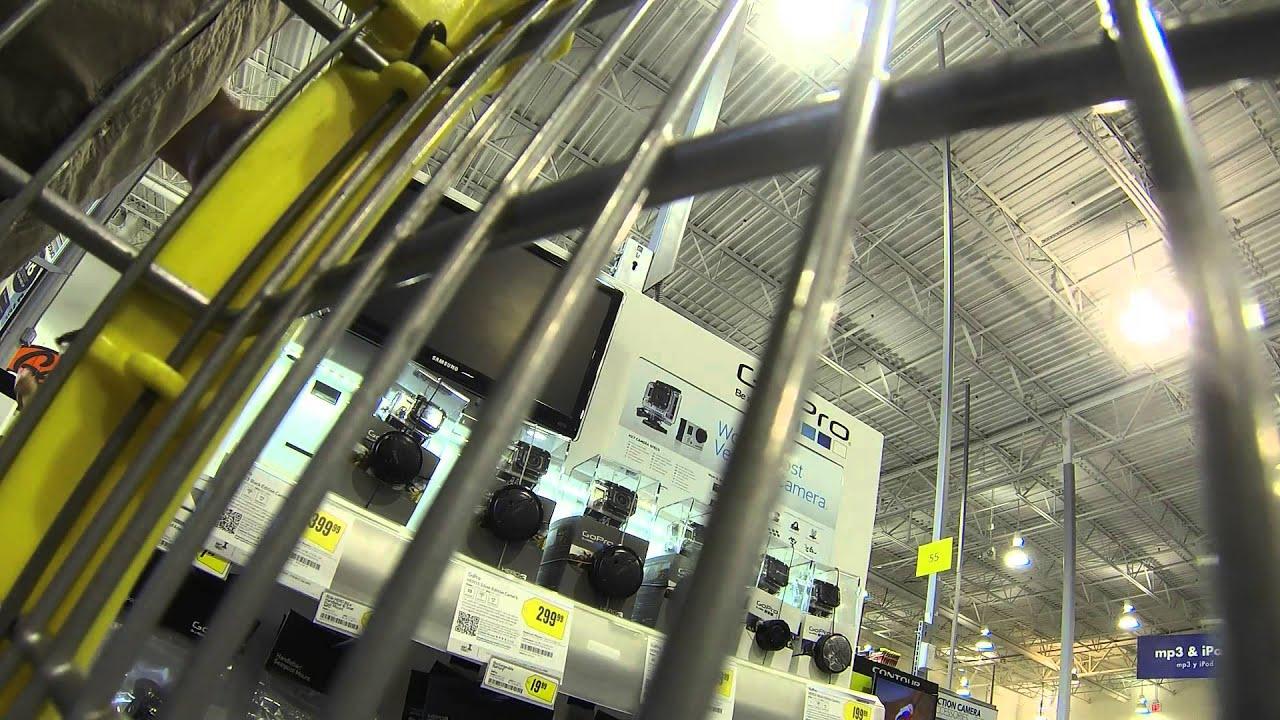 Gopro Camera Best Buy Shopping Cart Ride Part 1 Yuma