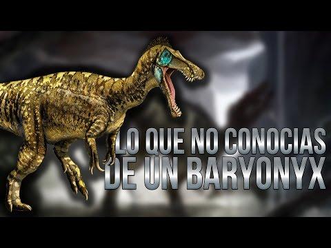 Lo que no conocías de un Baryonyx