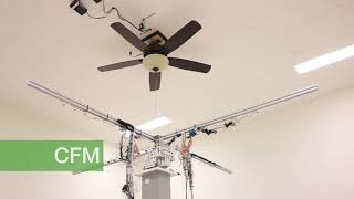 Behind the scenes: Testing Hunter ceiling fans