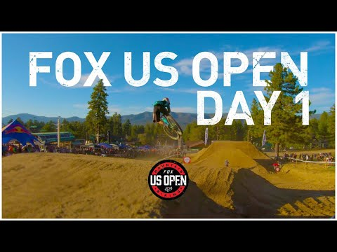 2019 FOX US OPEN MTB - Day 1. Skills With Phil Does Enduro. Whip-off Contest. I Hit The Nail.