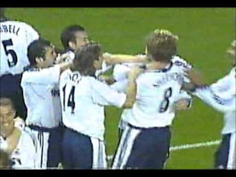 Tim Sherwood's free-kick for Spurs against Arsenal