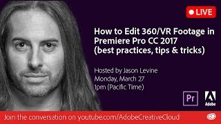 How to Edit 360/VR Footage in Premiere Pro CC 2017