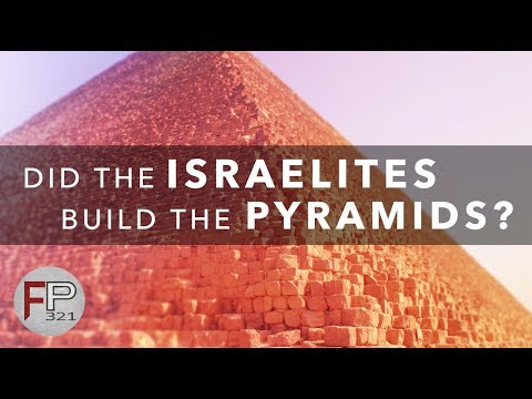 Did The Israelites Build The Pyramids? Pay Attention To The Dates