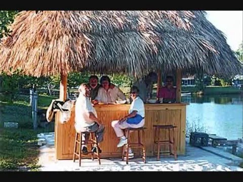 Thatched Roof Tiki Huts