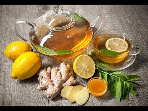Чай с имбирем, лимоном и медом для похудения, полезные