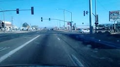 Driving through Fort Mohave Arizona