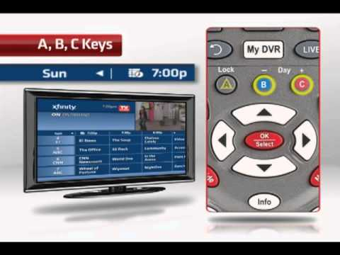 How To Use Your Xfinity Custom 3 Universal Remote Control Youtube
