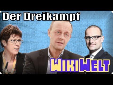 Dreikampf in der CDU - mein WikiKommentar #92