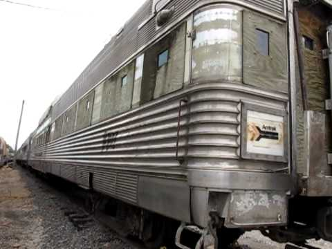 Silver Tower Observation Train Car