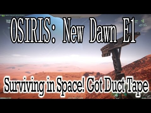 osiris new dawn v1.116 how to make tape
