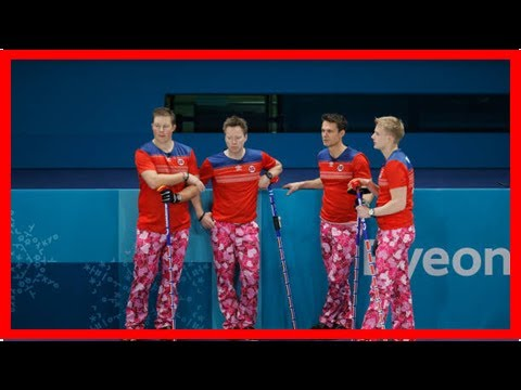 Norway curling team's pants win over the web