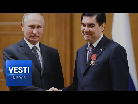 A Sea of Gas: Putin and President of Turkmenistan Discuss Future of Caspian Projects