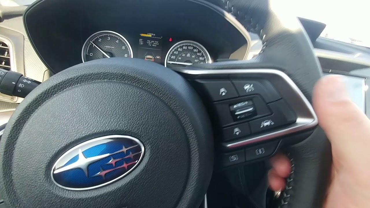 White 2019 Subaru Forester Touring Eyesight Youtube