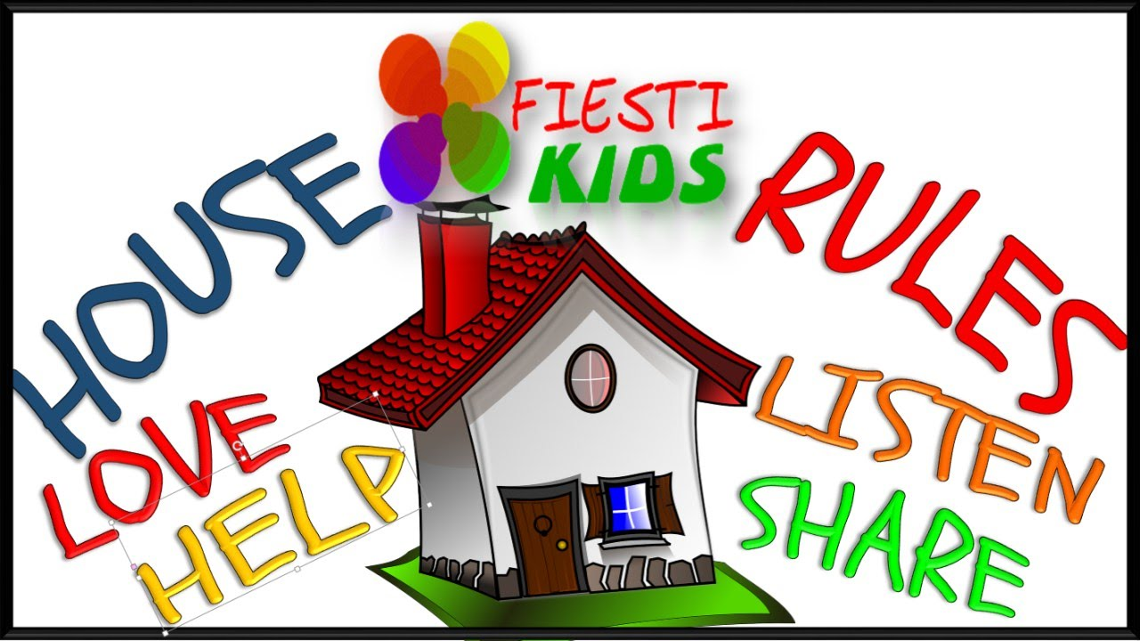 Home rules for children good manners reglas de casa for Imagenes de las reglas de la casa
