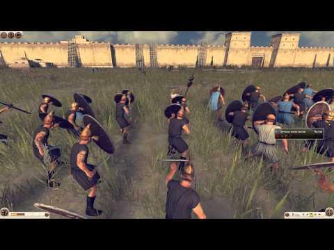 Total War Rome - II (Оборона крепости)