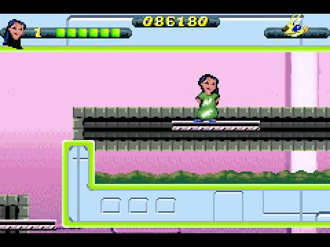 Lilo  and  Stitch 2 - Haemsterviel Havoc (GBA) - Levels 24-28 GamePlay-Finale