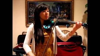 Bach Cello Suite No. 1 Prelude on chin cello