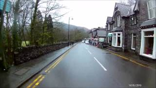 Late Winter Betws-y-Coed Scenic Drive Wales
