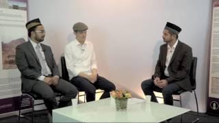 Interview with Sarmad Hannes Hübner and Imam Kashif Virk - 25th Jalsa Salana Sweden 2016 [English]