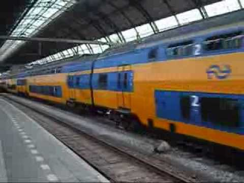 Trains from Amsterdam Central Station