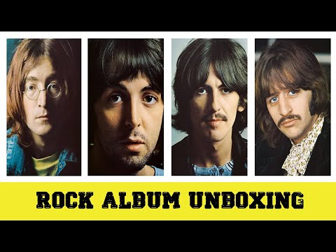 Rock Album Unboxing - The Beatles