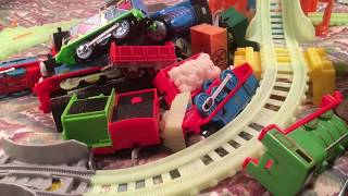 How to test batteries in toy trains.