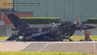 Techniker zerstört mit F-16-Kanone aus Versehen anderen Kampfjet