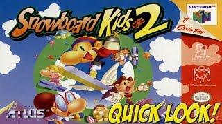 N64: Snowboard Kids 2! Quick Look - YoVideogames