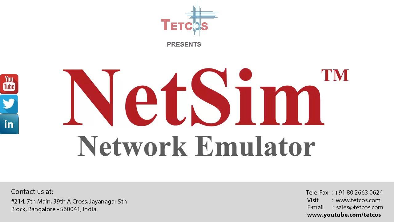 Network Emulator: NetSim - Introduction - YouTube