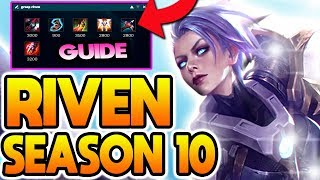 THE BEST RIVEN BUILD FOR SEASON 10! | Season 10 Riven Guide