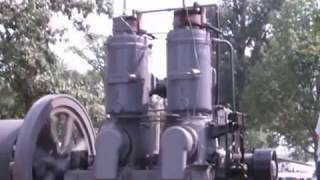 100 Horse Ancient Monster Engine Fires up! ~ Big Twin! ~ Fairbanks Morse