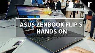 Asus ZenBook Flip S Hands-on Review: World's thinnest convertible laptop