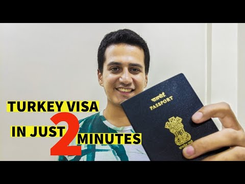 Turkey Visa For Indians | Sticker Visa & E-Visa Process - All You Need To Know