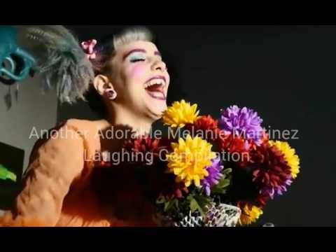 Another Adorable Melanie Martinez Laughing Compilation