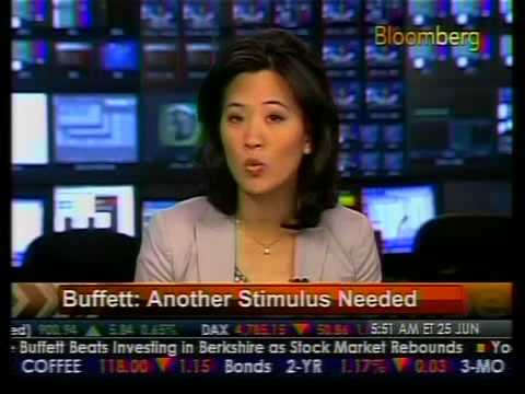 Another Stimulus Needed - Buffett - Bloomberg