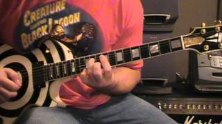 Beast of Burden Guitar Solo lesson. Slow. Rolling Stones.