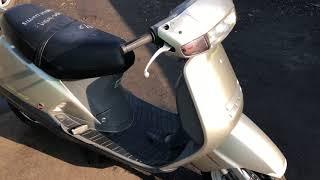 Двухместный Honda Lead 90 HF05 90 кубов