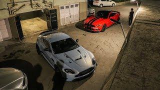 Midnight Fun with Supercars in Mumbai Part 2 | Ford Mustang | Ferrari | Aston Martin | Nissan GTR