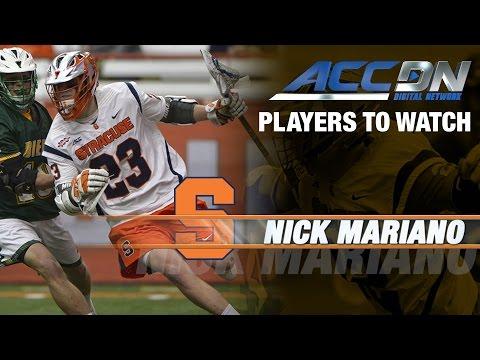 Syracuse Lacrosse: Nick Mariano Propels Orange Offense To NCAA Tournament