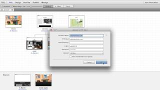 Upload an Adobe Muse site to your own host